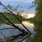 Закат на реке Клязьма, Аббакумово