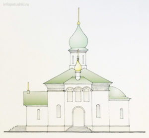 Строительство Храма в деревне Аббакумово
